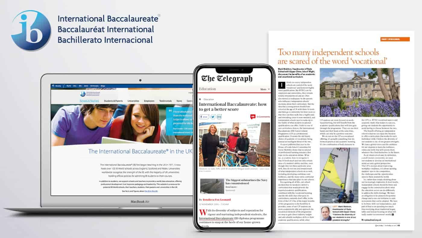 The International Baccalaureate cause study image