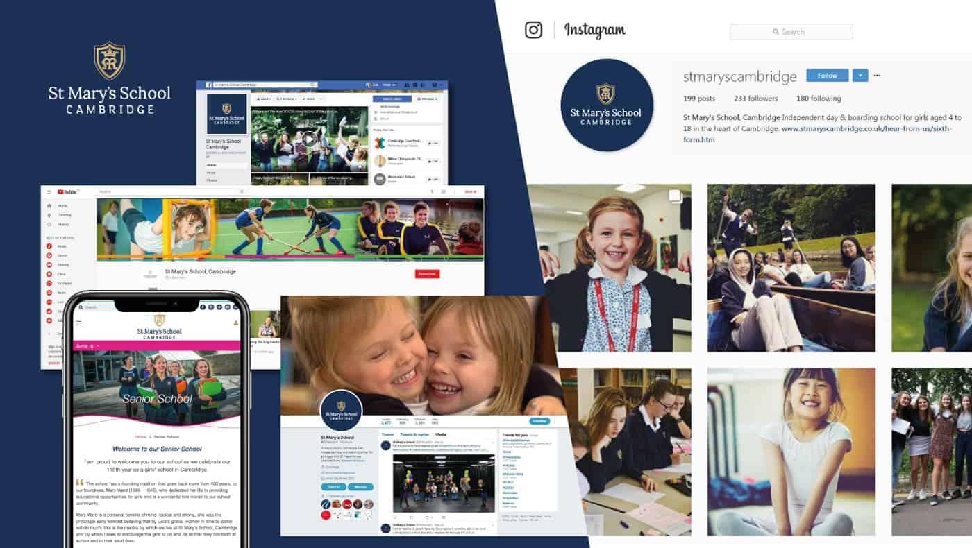 St Mary's School digital Case Study