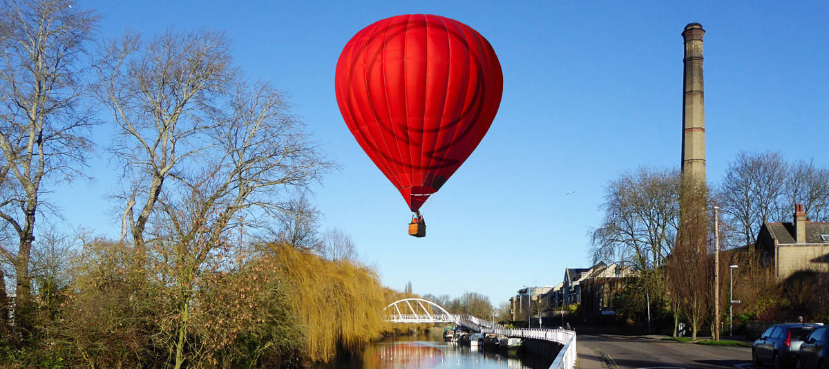 Red Balloon Charity blog image