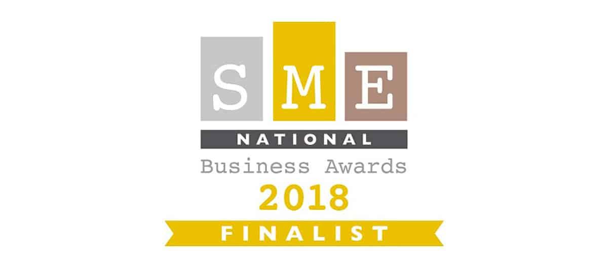 SME award 2018 finalist