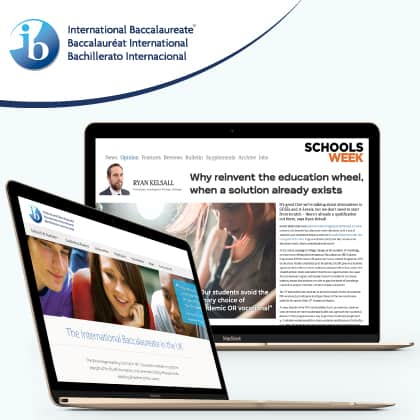 The International Baccalaureate case study image