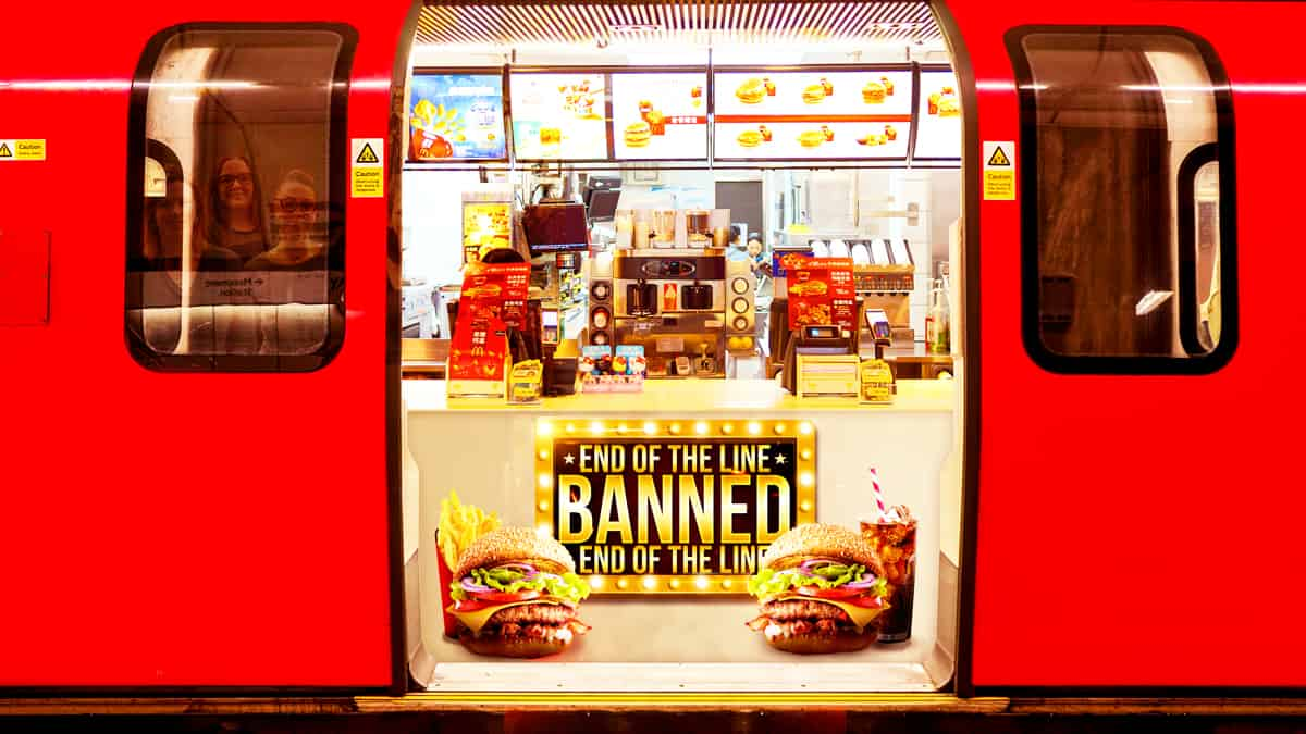 Junk Food Ban on the Tube blog image