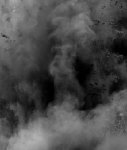 Mono powder explosion image