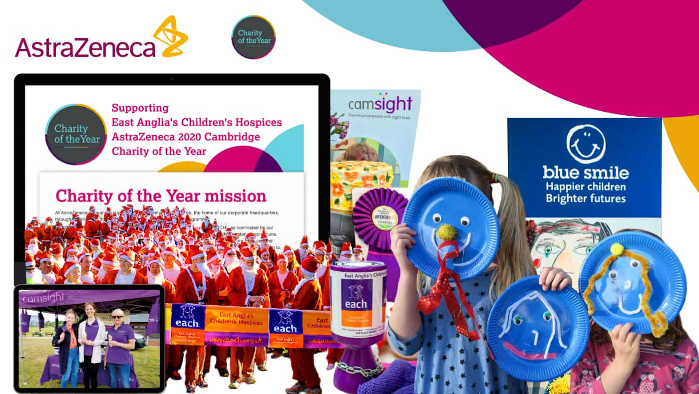 AstraZeneca Charity of the year case study image