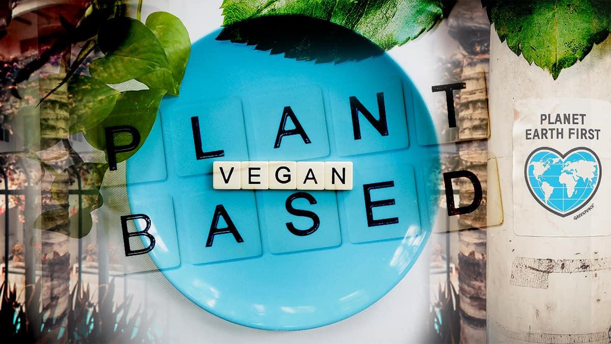 Vegan image for blog post