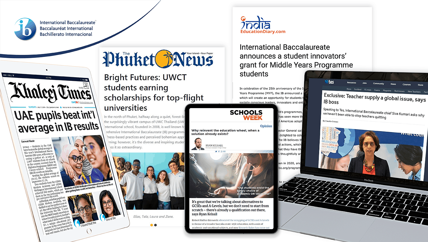 International's Baccalaureate APAC case study image