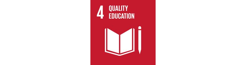 4 Quality Education logo image