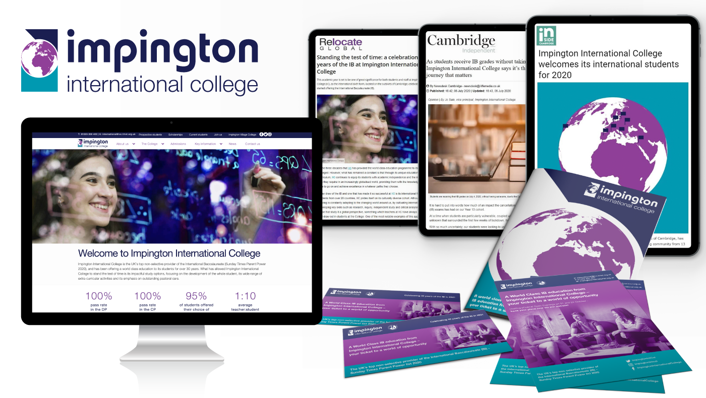 """Featured image for """"Impington International College"""""""